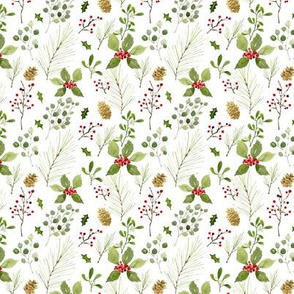 Christmas foliage mini