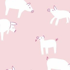farm pig_in the pink