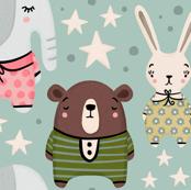 Animals In Pajamas