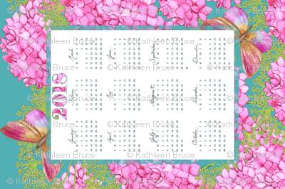 2018 Calendar  Butterflies & Blooms