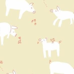 farm pig_simplicity