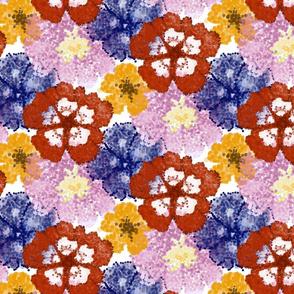 Pointillism Flowers