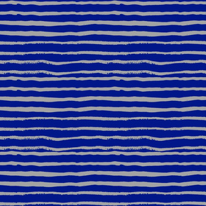 royal blue and grey stripes