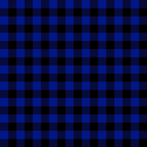 buffalo plaid royal blue