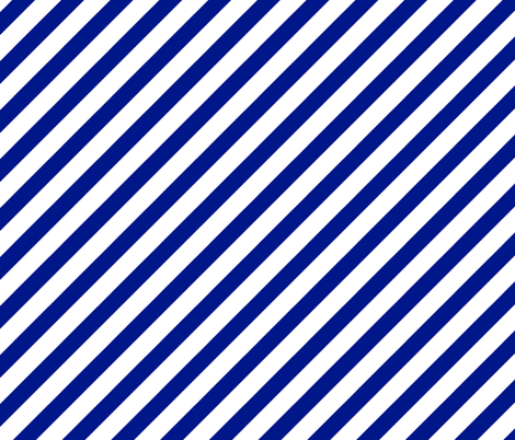 stripes - royal blue fabric by charlottewinter on Spoonflower - custom fabric