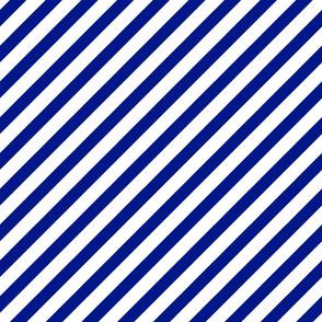 stripes - royal blue