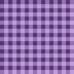 buffalo check - purple