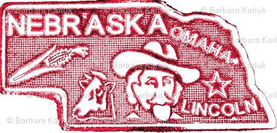 Nebraska charm red-ch-ch-ed