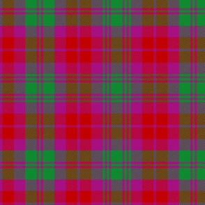 MacNab tartan based on Black Watch, 6""
