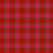 """MacNab ancient tartan, 1.5"""" red"""
