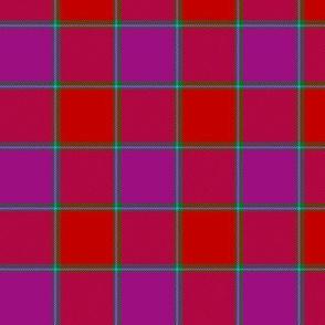 """MacNab ancient tartan, 3"""" bright"""