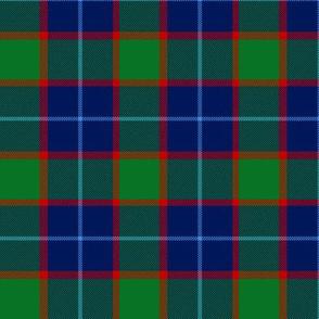 "Wilsons # 199 / MacNab tartan, 3"" blue"