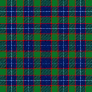 "Wilsons # 199 / MacNab tartan, 1.5"" blue"