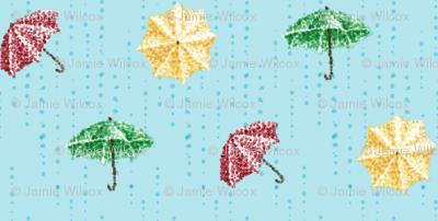 Umbrella Droplets