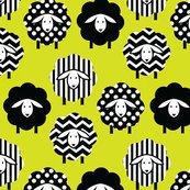 6801567_black_and_white_sheep_on_lime_yellow_green_2_shop_thumb