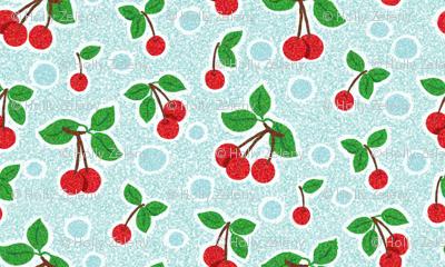 Cherry_Pointillism