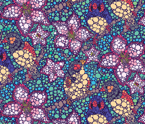 Parrots & Dots fabric by lisahilda on Spoonflower - custom fabric