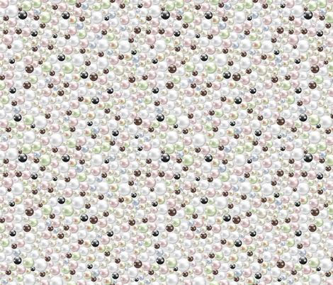 Pearls fabric by svetlana_prikhnenko on Spoonflower - custom fabric