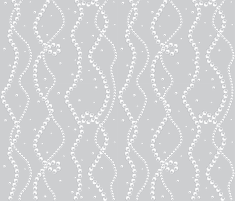 Pearl Necklace fabric by svetlana_prikhnenko on Spoonflower - custom fabric