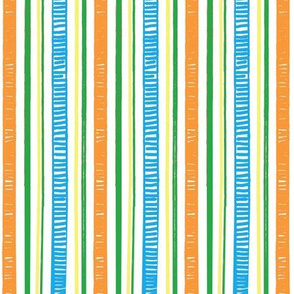 Ruffle Flower Stripes 4
