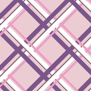 Plaid-Normous - Pink & Purple