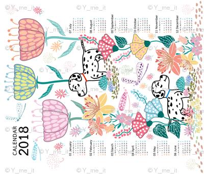Calendar2018 : Wonderful Day