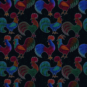pointillism-proud cocks