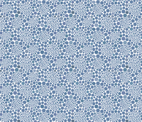 KUSAMA - Infinity colors on white fabric by isabelc on Spoonflower - custom fabric