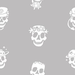 Skull Job B&W