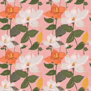 magnolia - pink