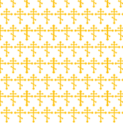 Orthodox Cross in Gold