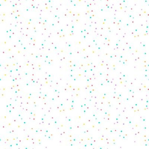 small polka dots - confetti coordinate