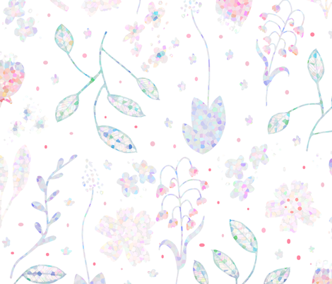 pointilize fabric by pixabo on Spoonflower - custom fabric
