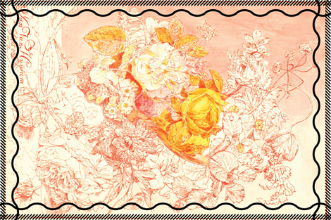 roses and remembrances fabric by jerseymurmurs on Spoonflower - custom fabric