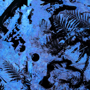 Deep jungle 03 blue