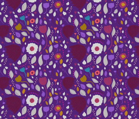 purpdot fabric by kristy_stafford on Spoonflower - custom fabric