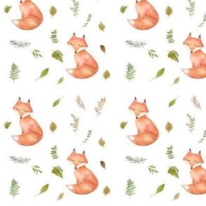 """4.5"""" Woodland Fall Fox"""