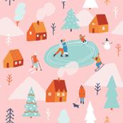 Wintertime pink