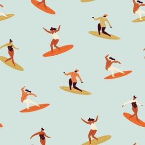 Surfing in 70s