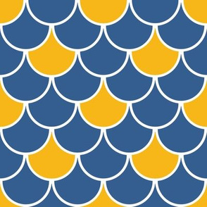 Scales - Blue and Yellow