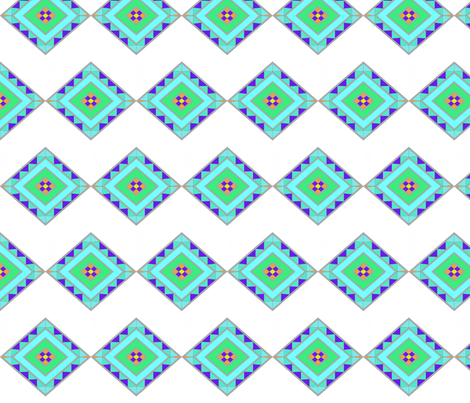 Painted Sands 1 fabric by sewfunny on Spoonflower - custom fabric