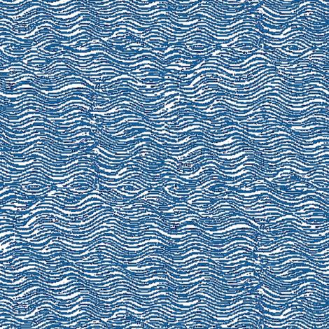 Sea Indigo fabric by amyvail on Spoonflower - custom fabric