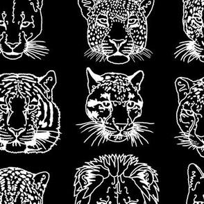kickass_kitties_-_white_on_black
