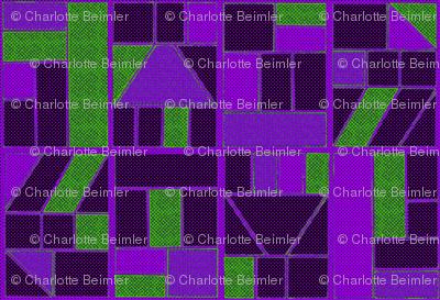 Ben-Day Frames Solarized Violet