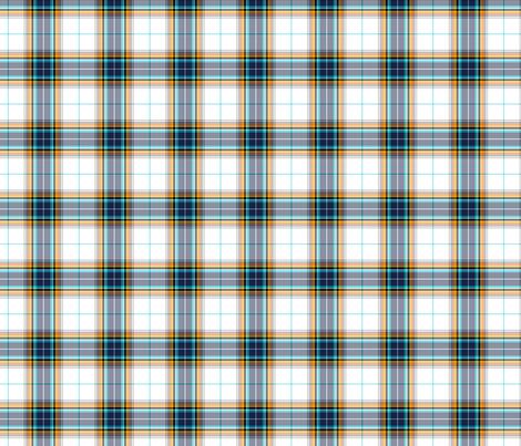 antarctic tartan fabric by misstiina on Spoonflower - custom fabric