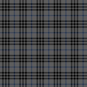 grey blue tartan