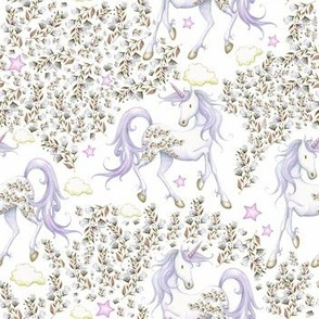 "7"" Magical Hues / Unicorn Floral Garden"