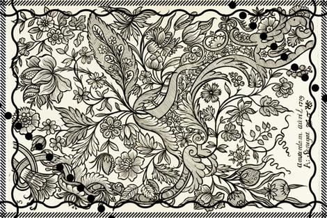 Magic Bird fabric by jerseymurmurs on Spoonflower - custom fabric