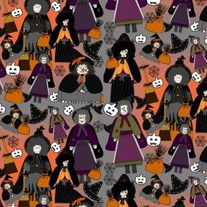 Halloween Witch Fabric  Collection