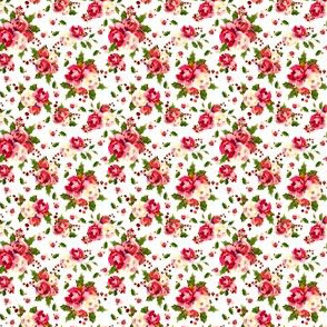 Christmas Floral White Tiny